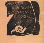 1918 xilografie per un libro