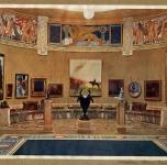 1907 Biennale di Venezia.  Sala dell'Arte del Sogno
