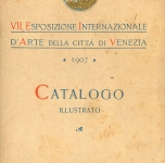 1907  Venezia   Catalogo della Biennale