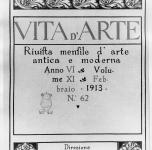 1913  Vita d'Arte