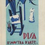 1931  Pisa  II Mostra d'Arte