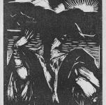 3. piccola elegia di carnevale  (cm 13x10,5)