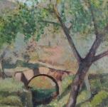 1944 Agnano (olio su cartone cm 32x23,5)