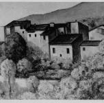 1936 Case di Montemagno  (esposto alla VII Rassegna Provinciale)