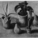 1936 Colius e frutti  (Esposto alla VII Rassegna Provinciale)