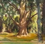1938 Giardino Scotto (olio su tela cm 60x80. Esposto alla IX Rassegna Provinciale.  Fondazione Cassa di Risparmio di Pisa)