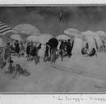 1919 La spiaggia Viareggio