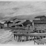 1937 Marina di Pisa (esposto alla  VIII Rassegna Provinciale)