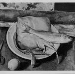 1936 Natura morta con pesci  (esposto alla VII Rassegna Provinciale)