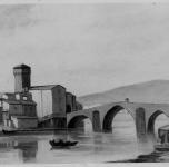 1937 Ponte a Mare, ricostruzione  (esposto alla VIII Rassegna Provinciale)