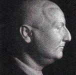 Ritratto di Ferruccio (scultura in legno di Amerigo Focacci, primi anni '20)