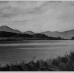 """1937 S.Rossore sull'Arno  (esposto alla VIII Rassegna Provinciale - la foto reca la dicitura """"Acquistato da S.M. il Re"""")"""