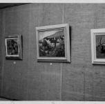 VII Rassegna Provinciale    dicembre 1936-gennaio 1937  (Si riconoscono i quadri: Case di Montemagno, Colius e frutti)