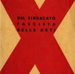 1940 Catalogo X Mostra d'Arte