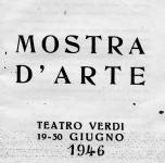 1946  Pisa   Mostra d'Arte