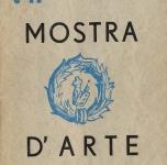 Catalogo VII Mostra d'Arte   dicembre 1936 - gennaio 1937