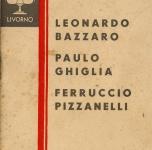 1933  Livorno   Bottega d'Arte
