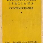 1947   Pisa   Catalogo della Mostra di Pittura Italiana Contemporanea     Palazzo alla Giornata