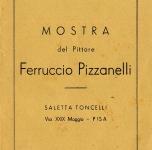 1948 Invito alla mostra presso la Saletta Toncelli