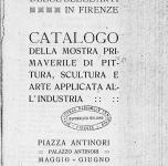 1919 Firenze Mostra Primaverile
