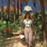 1924 Donna di Torre del Lago