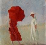 1920 ca Due donne sulla spiaggia