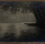 1916  Fiume morto (pastello)