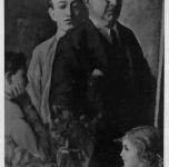1932  Io e i miei figli (esposto alla III Rassegna Provinciale)
