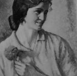 1931 La Maria o Ragazza col fiore