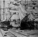 le navi nel porto