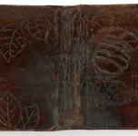 1920   Legatura con insetto (cuoio sbalzato cm 13x17,5)