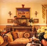 quadri anche in raffinate stanze milanesi (Rivista AD n.5, 1996)