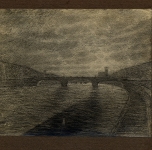 1916 Sull'Arno (pastello)