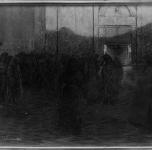 1916 Triste messa di Natale - primo anno di guerra (pastello)